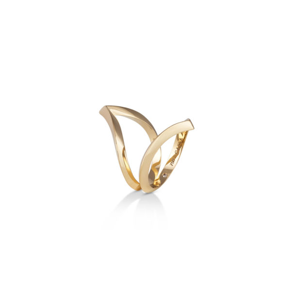 Marsa-Gafla-Double-Ring,-Yellow-Gold