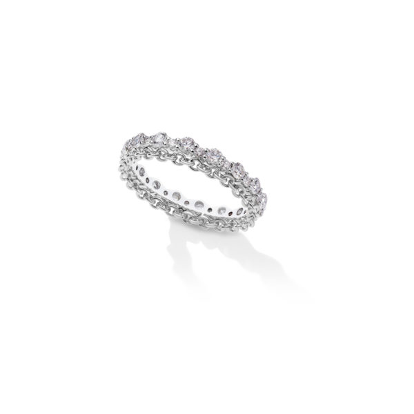 SGW204- Salasil Gafla Twin Ring White Gold – 900 x 900px