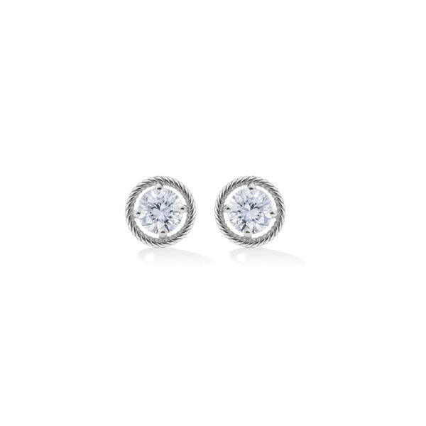 SGW304- Salasil Gafla Earrings Round White Gold MM – 900 x 900px